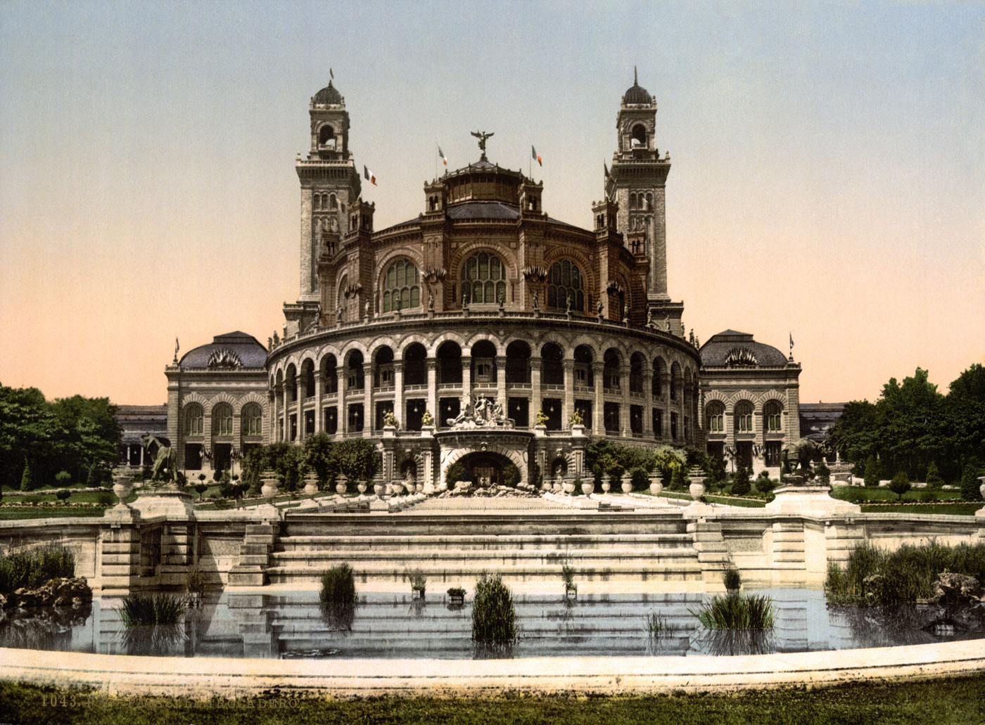 The Trocadero Exposition Universal, 1900, Paris, France