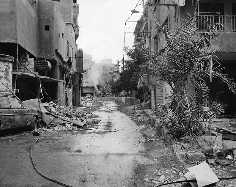Dahiyeh, Beyrouth, Liban, septembre 2006. Photo © Anne-Marie Filaire.