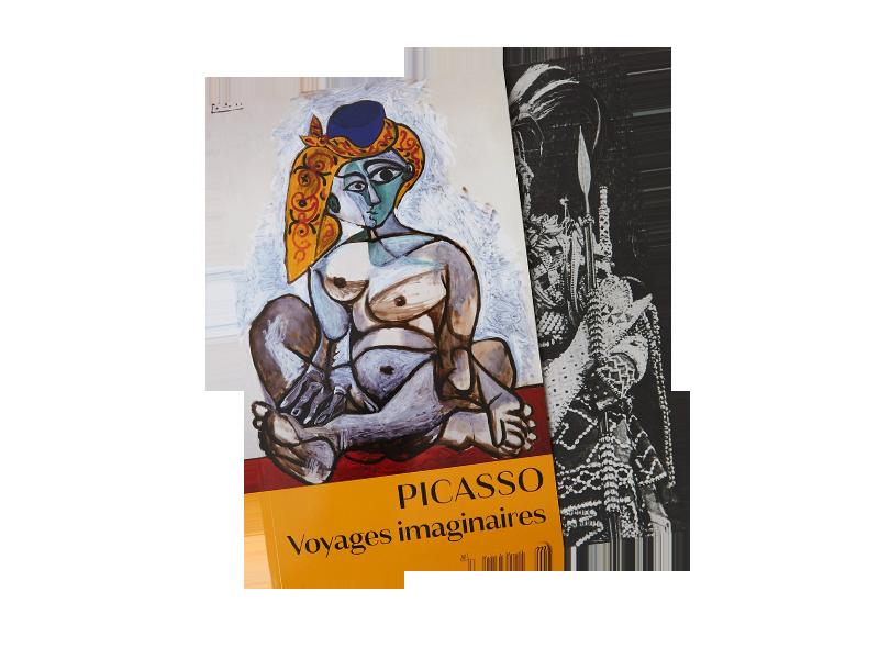 Catalogue d'exposition Picasso Voyages imaginaires, Vieille Charité