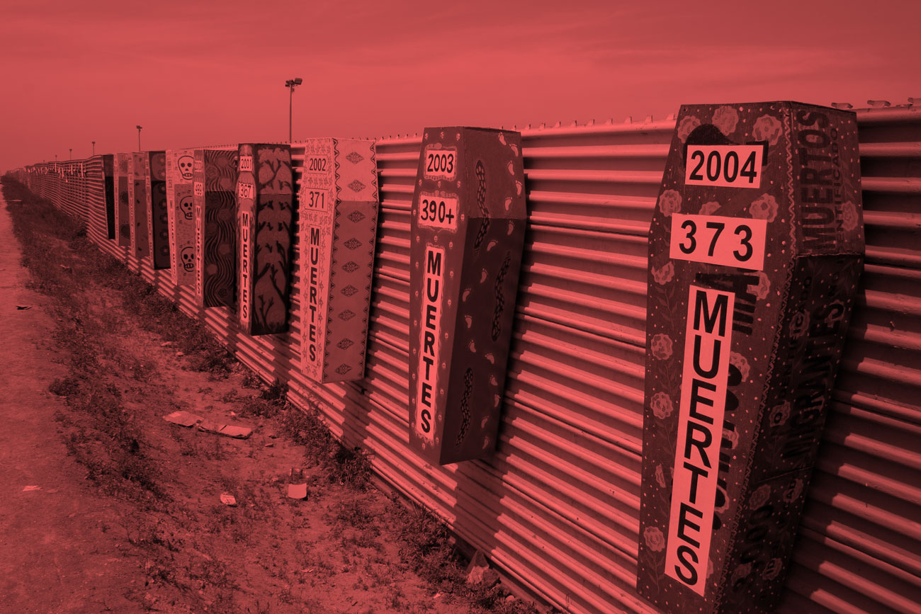 Tijuana San Diego border deaths © Revue Diasporas