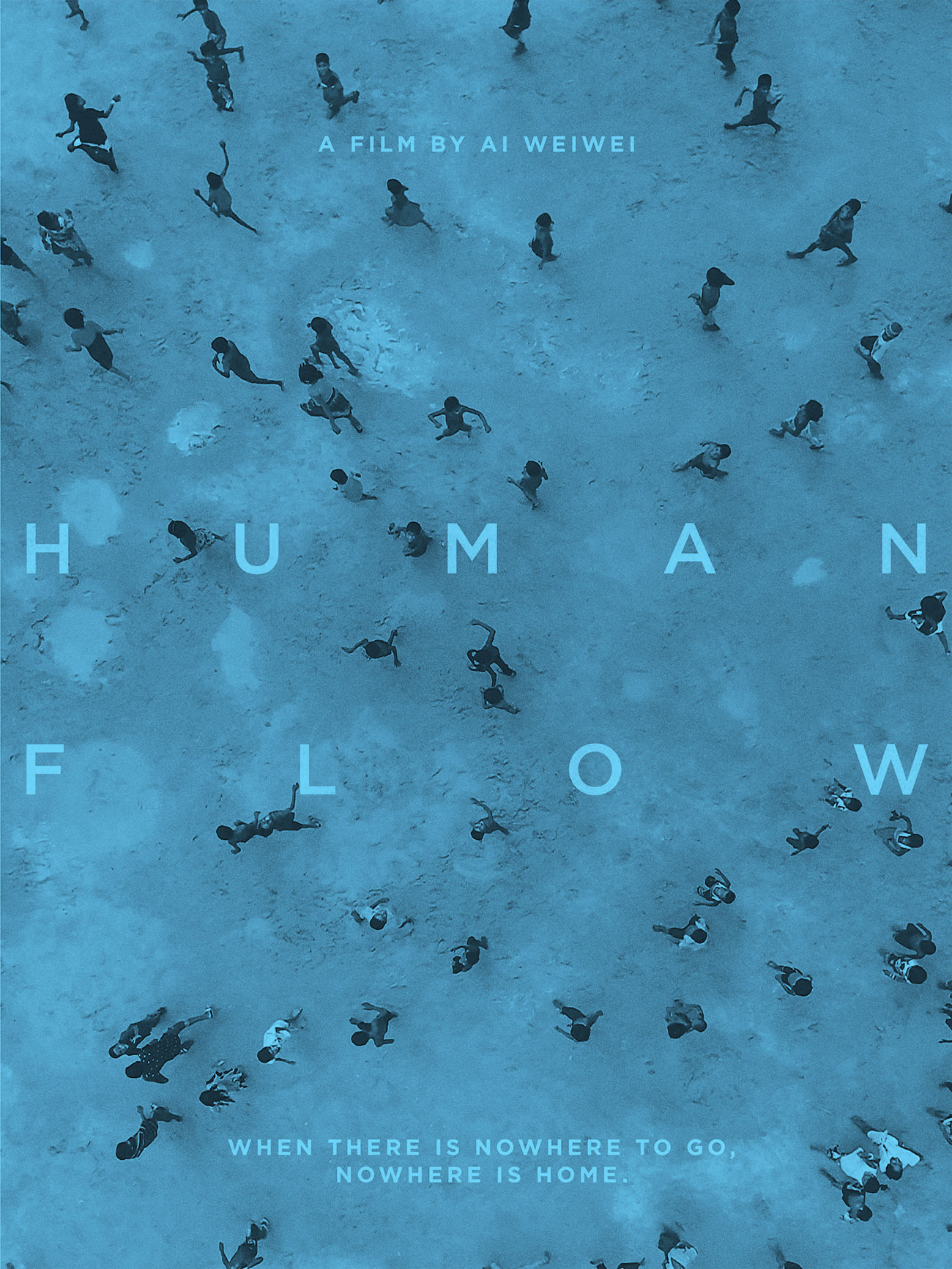 Theatrical one-sheet for HUMAN FLOW, an Amazon Studios release © Photo Courtesy of Amazon Studios