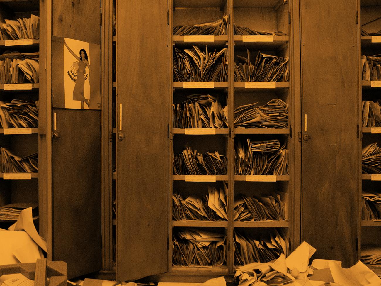 En mal d'archives © Sabrina Dubbeld