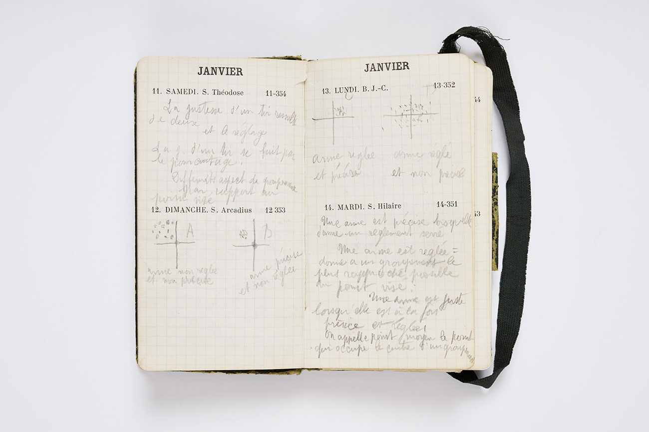 Diary of Louis David, 1913. Association des Amis de Jean Giono, photograph © David Giancatarina