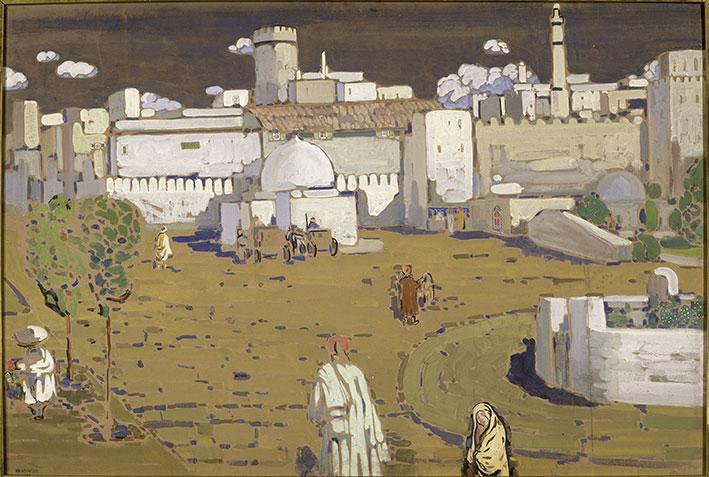 """Kandinsky painting """"Arabische Stadt"""""""