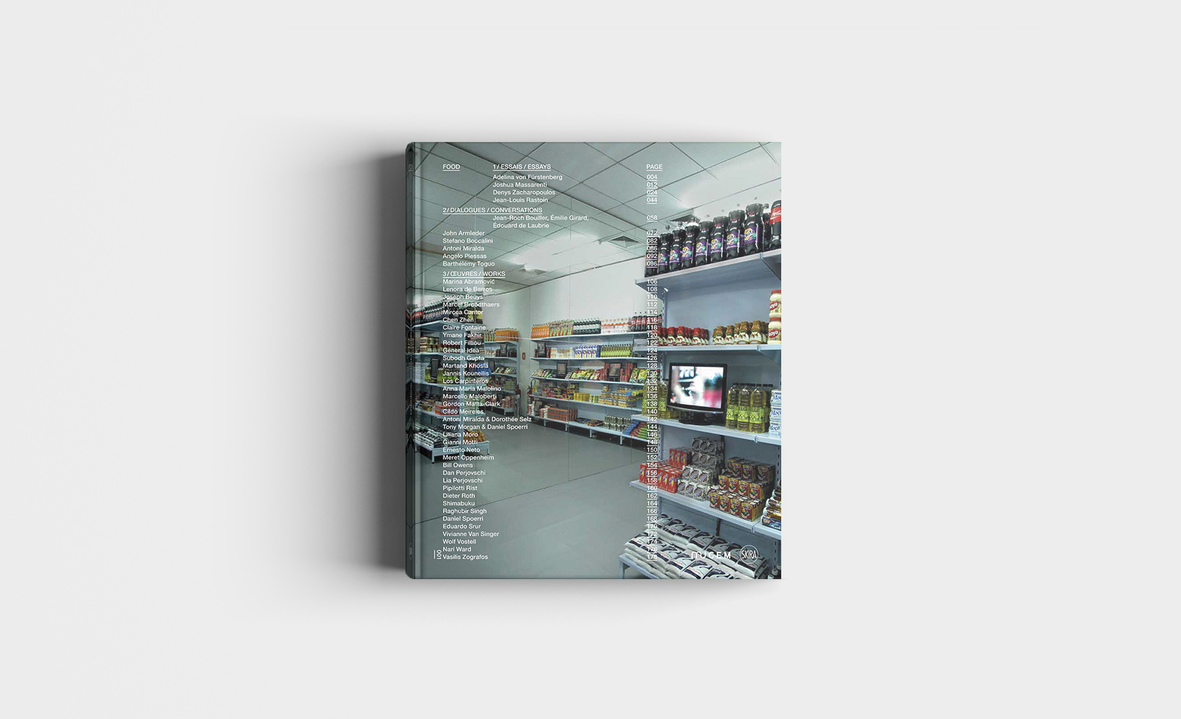 Catalogue d'exposition Food, © Mucem / Skira, 2014