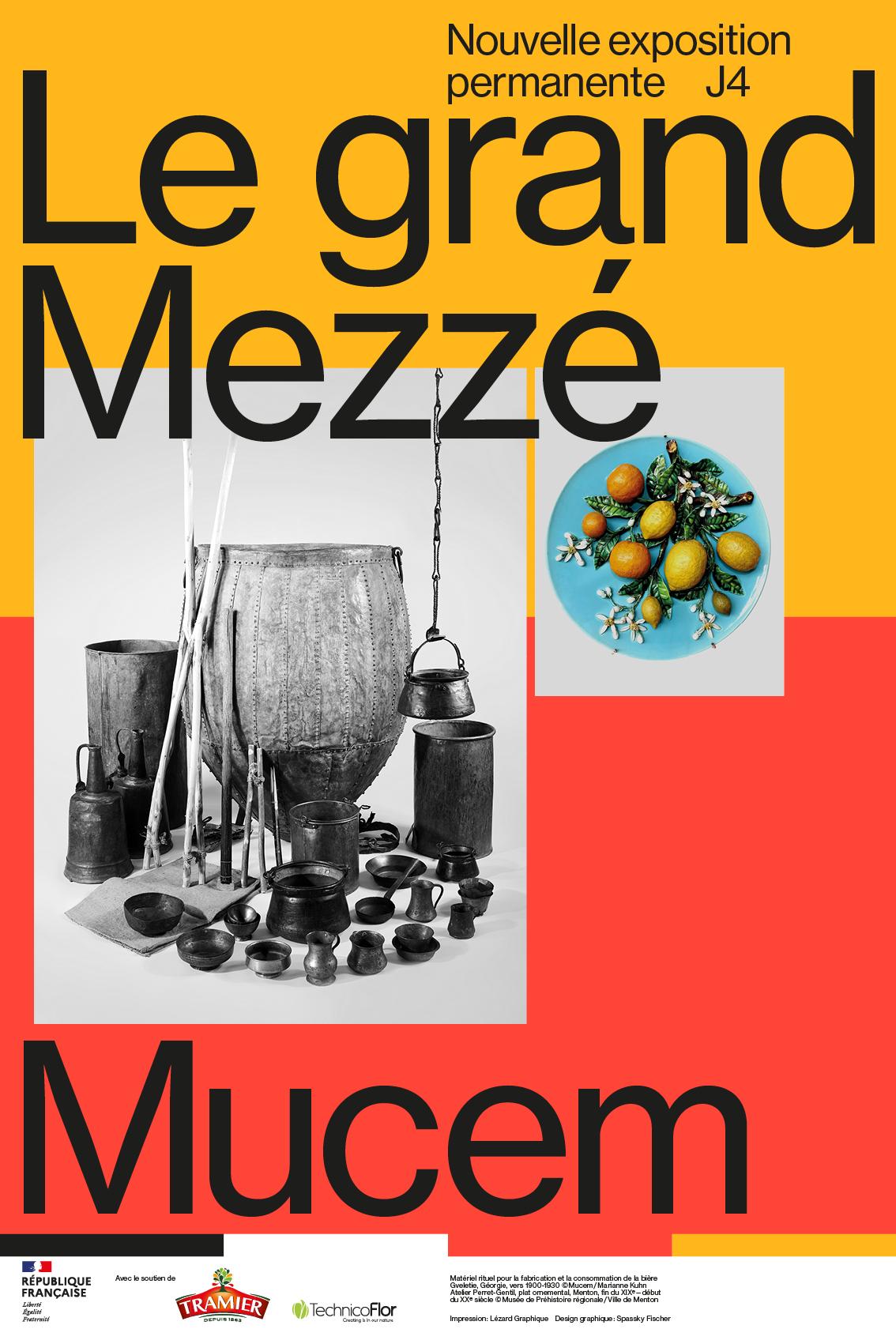 Exposition Le grand Mezzé—Mucem