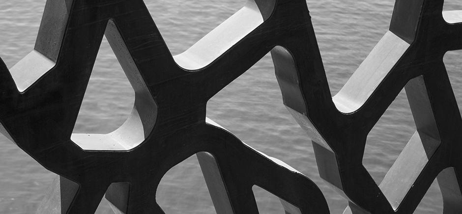Résille du J4, Mucem, Architectes Rudy Ricciotti et Roland Carta