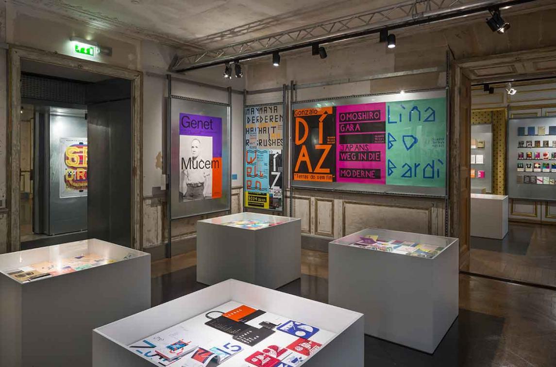 """Musée des Arts décoratifs, Paris, exposition """"Design graphique - Acquisitions récentes"""" © Luc Boegly"""