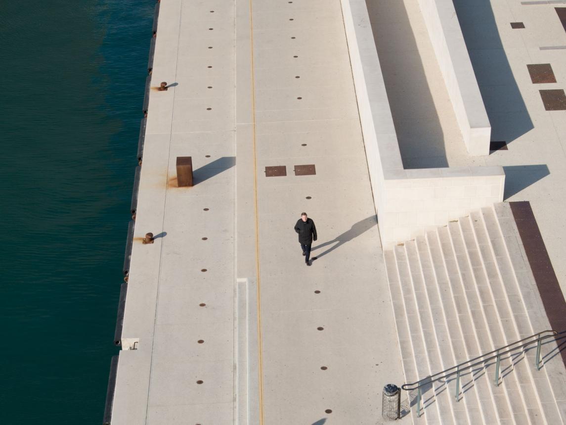 Esplanade du J4, Mucem © Spassky Fischer