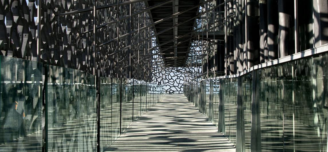 Mucem - Coursives ® Lisa Ricciotti