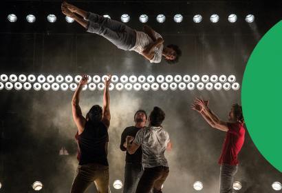 Soirée cirque contemporain, Mucem Plan B