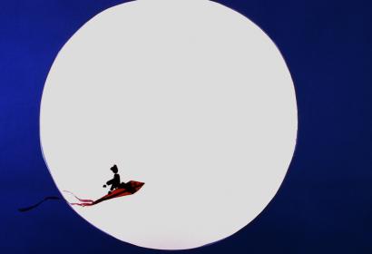 Elle est ou la lune © Mon grand l'Ombre