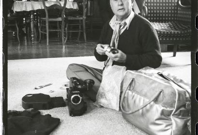 Jean Rouch_Sonchamp_1983 © Françoise Foucault