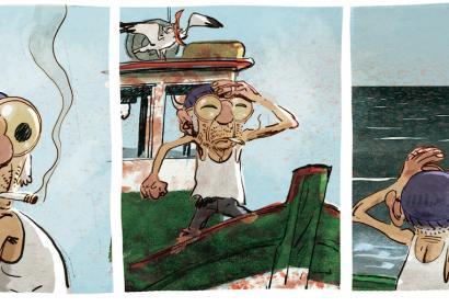 Un Océan d'amour, Lupano-Panaccione © Editions Delcourt - 2014