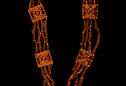 (Tribu des) Beni-Yenni, collier, début du 20e siècle, Mucem