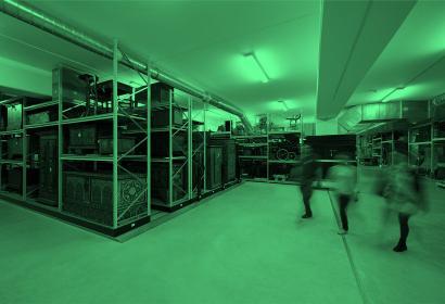 Découvrir les réserves du Mucem au CCR © Yves Inchier, Mucem