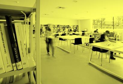 CCR - Salle de lecture © Yves Inchierman, Mucem