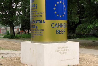 Monument to the International Community by the grateful citizens of Sarajevo © Nebojsa Seric Shoba, Sarajevo, 2007