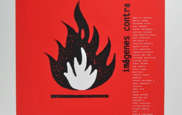 Affiche de l'exposition « imagenes contra el sida », 1994. Don du CRIPS Île-de-France, 2002.127.336, Mucem