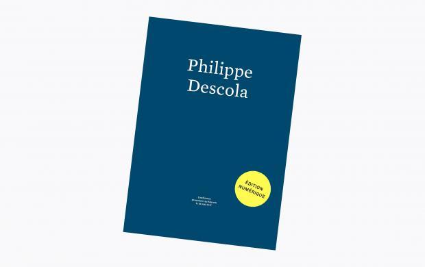 couverture - Philippe Descola