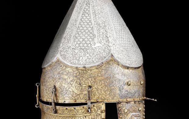 Casque ottoman © Musée de l'Armée, Dist. RMN-Grand Palais_Emilie Cambier