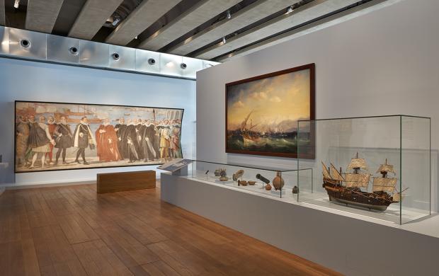 Visite d'exposition Connectivités, Galerie de la Méditerranée © François Deladerriere