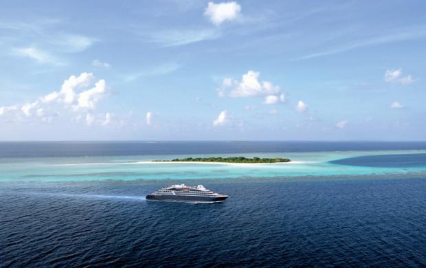 Yacht Le Bougainville, Ponant mécène du Mucem Connectivités