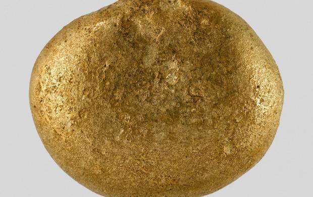 Lingot en forme de disque plat, Elam (actuel Iran), Suse, vers 1500-1200 av. J.-C. © Musée du Louuvre, département des Antiquités orientales, Paris