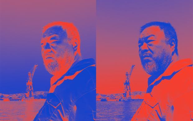 Affiche Ai Weiwei © Judith Benhamou Huet, Mucem