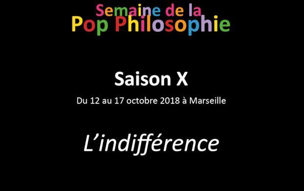 Semaine de la Pop Philosophie - Edition 2018