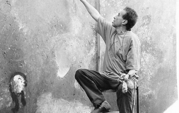 Mohammed Kacimi vers 1993-1994. © Archives Kacimi