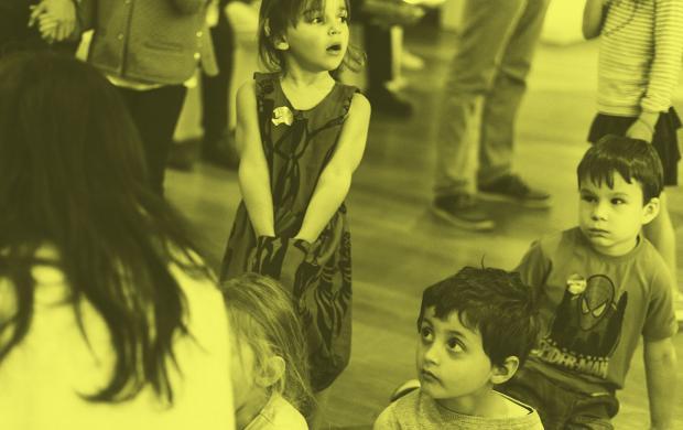 visite atelier on danse en famille © Gabriel Popoff Mucem