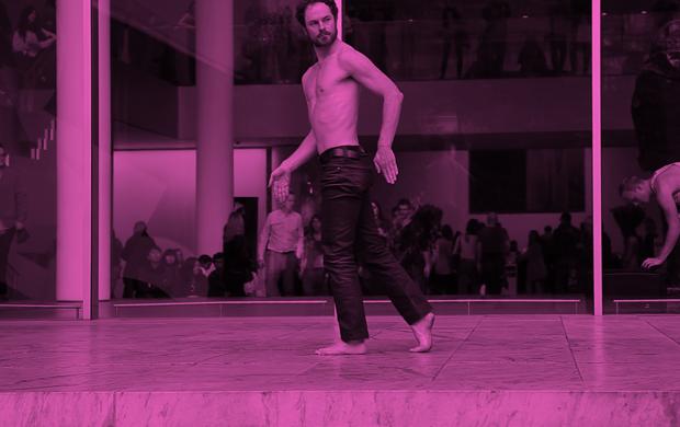 Boris Charmatz_MoMA_New-York_2013 © Cesar Vayssie