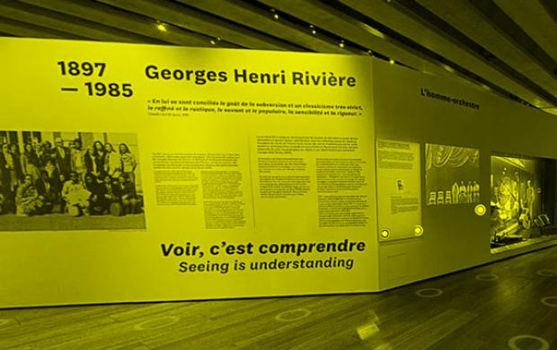 Visite virtuelle de l'exposition Georges Henri Rivière. Voir, c'est comprendre Mucem