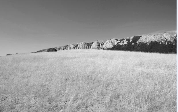 Photographie de paysage, Alpes de Haute-Provence, 2019 © François Deladerrière