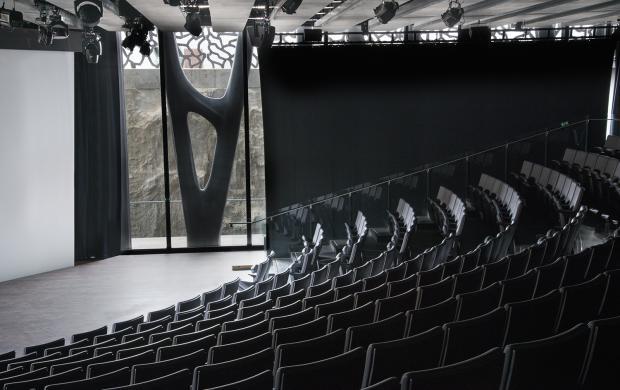 Auditorium, Mucem © Julia Andréone Spassky Fischer
