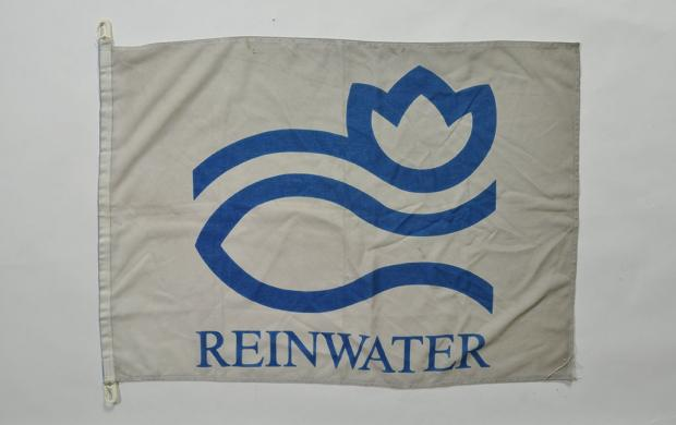 Banderole en toile, Stichting Reinwater, Pays-Bas, 20e siècle © Mucem