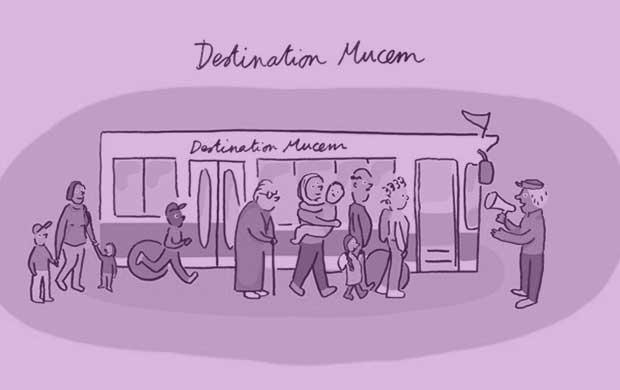 Destination Mucem © Perrine Détrie, Atelier Moustier