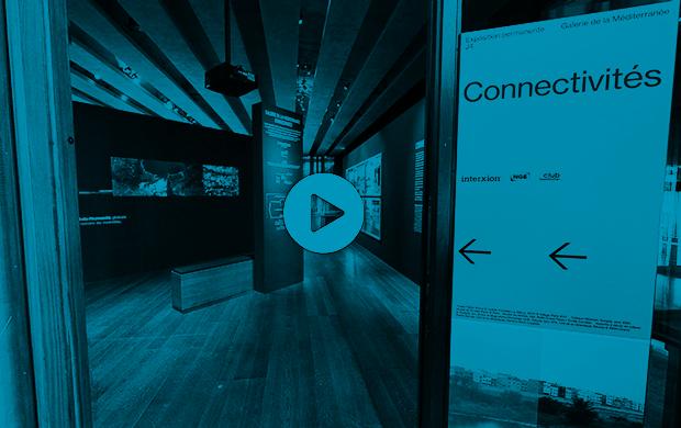 Visite virtuelle exposition « Connectivités »