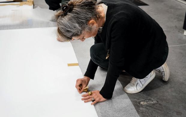 Installation de Yohanne Lamoulère © Julie Cohen, Mucem