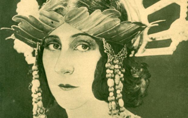 Salammbô, un film de Pierre Marodon, 1925. Production, Établissements Louis Aubert. © Gaumont