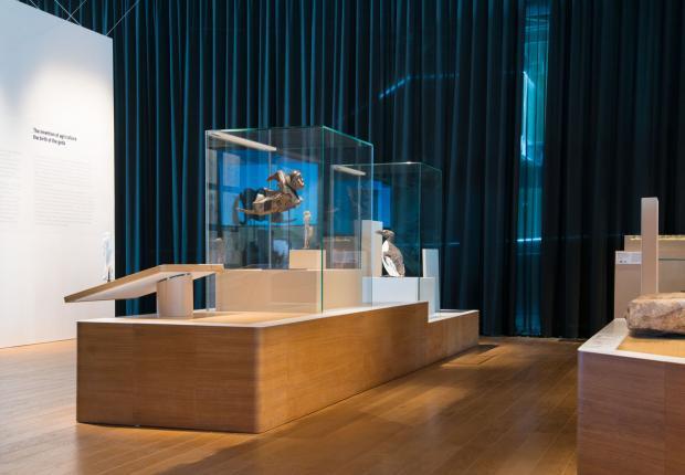 Visite de la galerie de la Méditerranée au Mucem