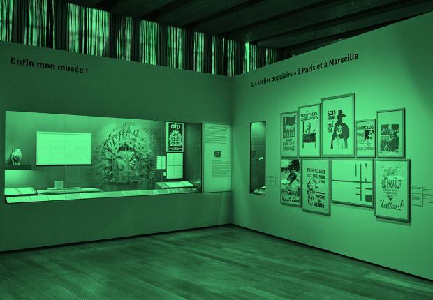 Scénographie exposition Georges Henri Rivière Voir, c'est comprendre © François Deladerrière